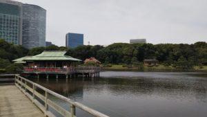 汐留の地名の由来 浜離宮庭園 天皇や将軍も愛した景色