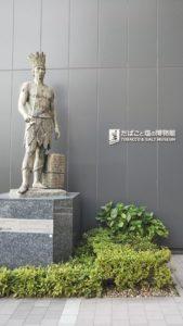 本所吾妻橋 たばこと塩の博物館 遺跡チックな展示が見られて旅行好きも満足