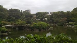 都会のオアシスでひと休み 両国 旧安田庭園