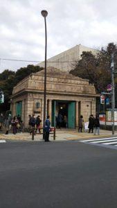 上野 期間限定公開の旧博物館動物園駅