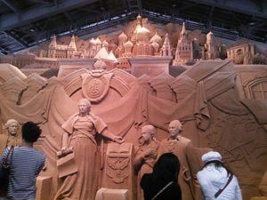 【鳥取】砂の美術館 砂で世界旅行