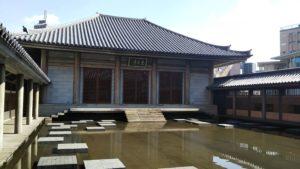 【四谷】東長寺 水の苑が美しいモダン寺