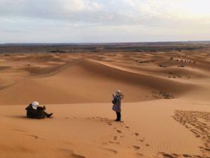 【モロッコ】サハラ砂漠 ラクダに乗って 隊商気分(HISツアー8日間)
