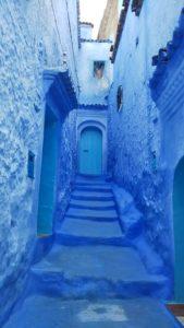 【モロッコ】シャウエン リアルに青の世界に迷い込む (HISツアー8日間)
