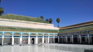 【モロッコ】マラケシュ バヒア宮殿 現国王も宿泊(HISツアー8日間)
