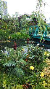 【池袋】西武池袋本店屋上 食と緑の空中庭園 モネの池に感動